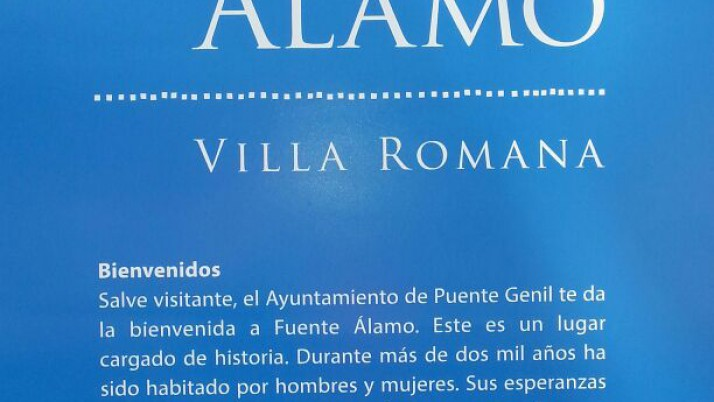 Visita a la Villa Romana de Fuente Álamo